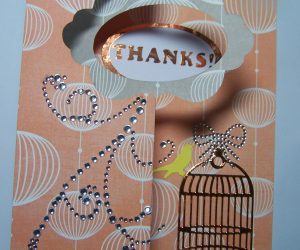 Hugs 'n' Kisses Thank You Card