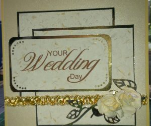 Hugs 'n' Kisses Wedding Card