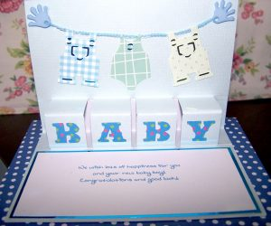 Hugs 'n' Kisses Baby Card